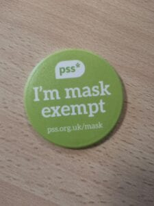 PSS mask exempt
